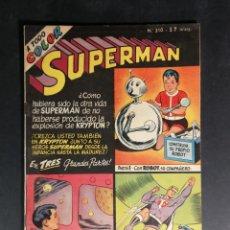 Tebeos: ORIGINAL SUPERMAN EDITORIAL MUCHNIK NUMERO 310 ARGENTINA. Lote 148122382