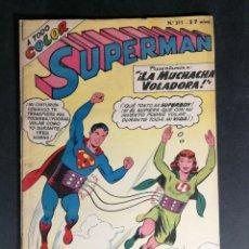 Tebeos: ORIGINAL SUPERMAN EDITORIAL MUCHNIK NUMERO 311 ARGENTINA. Lote 148122466