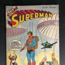 Tebeos: ORIGINAL SUPERMAN EDITORIAL MUCHNIK NUMERO 312 ARGENTINA. Lote 148122538