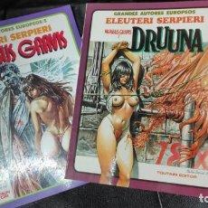 Tebeos: DRUUNA MORBUS GRAVIS LOTE DE 2 COMICS. Lote 148155158