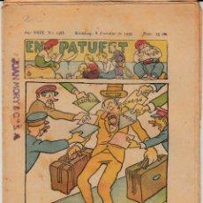 Tebeos: EN PATUFET -NUM. 1488 8 OCTUBRE 1932 - DORSO XOCOLATA AMATLLER SOLICITE LOS NÚMEROS QUE LE FALTAN-. Lote 148314426