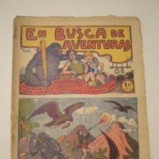 Tebeos: TBO-COMIC EN BUSCA DE AVENTURAS. EDITORIAL EL GATO NEGRO Nº 2 ESTADO EL DE LAS FOTOS. Lote 148494158