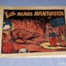 Tebeos: LOS NIÑOS AVENTUREROS LA CUEVA MISTERIOS EDITORIAL MARCO AÑOS 40 ORIGINAL VER FOTO Y DESCRIPCION. Lote 148690158