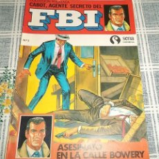 Tebeos: COBOT AGENTE SECRETO FBI ED SENA 1984 N.º 3 ASESINATO EN LA CALLE BOWERY . Lote 148702498