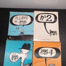 Tebeos: 4 LIBROS DE FORGES. EL LIBRO DE FORGES + LOS Nº 2, 3 Y 4, COMPLETA. (ENVÍO 4,31€). Lote 148707202
