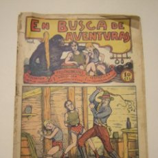 Tebeos: TBO-COMIC EN BUSCA DE AVENTURAS Nº 5. EDITORIAL EL GATO NEGRO DE BARCELONA ESTADO EL DE LAS FOTOS. Lote 148851970