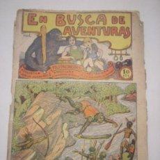 Tebeos: TBO-COMIC EN BUSCA DE AVENTURAS Nº 10 EDITORIAL EL GATO NEGRO DE BARCELONA ESTADO EL DE LAS FOTOS. Lote 148858030