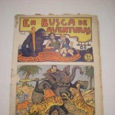 Tebeos: TBO-COMIC EN BUSCA DE AVENTURAS Nº 13 EDITORIAL EL GATO NEGRO DE BARCELONA ESTADO EL DE LAS FOTOS. Lote 148908846