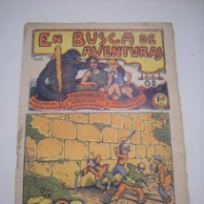 Tebeos: TBO-COMIC EN BUSCA DE AVENTURAS Nº 15 EDITORIAL EL GATO NEGRO DE BARCELONA ESTADO EL DE LAS FOTOS. Lote 148909606
