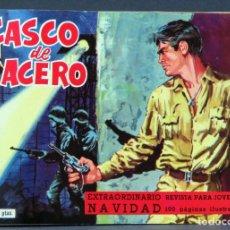 Tebeos: CASCO DE ACERO EXTRAORDINARIO NAVIDAD EDICIONES MANHATTAN 1961. Lote 148926954