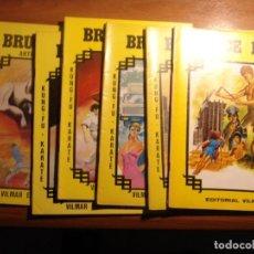 Tebeos: LOTE DE 7 COMICS DE BRUCE LEE DE VILMAR EDICIONES Nº 30, 31, 32, 33, 35, 36 Y 40. Lote 148974198