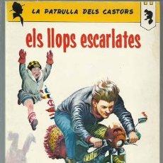 Tebeos: LA PATRULLA DELS CASTORS:ELS LLOPS ESCARLATES, 1966, ANXANETA, BUEN ESTADO. Lote 254594785