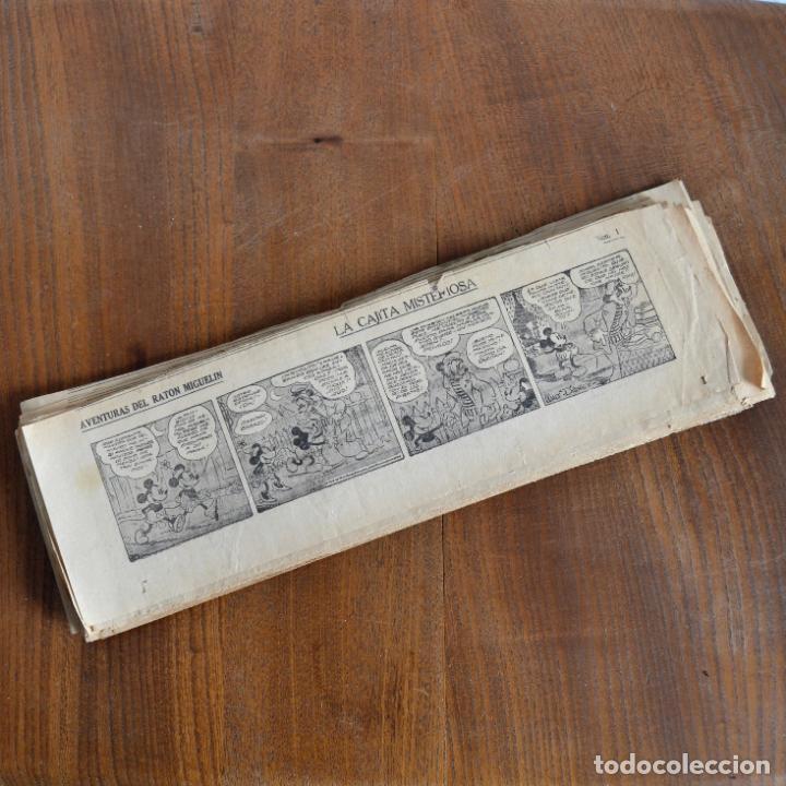 AVENTURAS DEL RATON MIGUELIN * MICKEY MOUSE * LA CAJITA MISTERIOSA * 66 TIRAS AÑOS 30 (Tebeos y Comics - Tebeos Clásicos (Hasta 1.939))