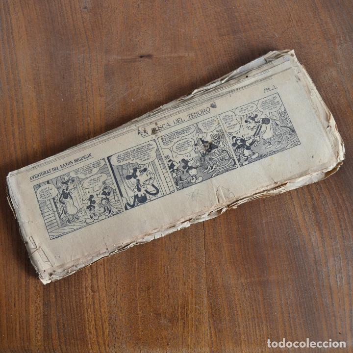AVENTURAS DEL RATON MIGUELIN * MICKEY MOUSE * EN BUSCA DEL TESORO * 100 TIRAS AÑOS 30 (Tebeos y Comics - Tebeos Clásicos (Hasta 1.939))