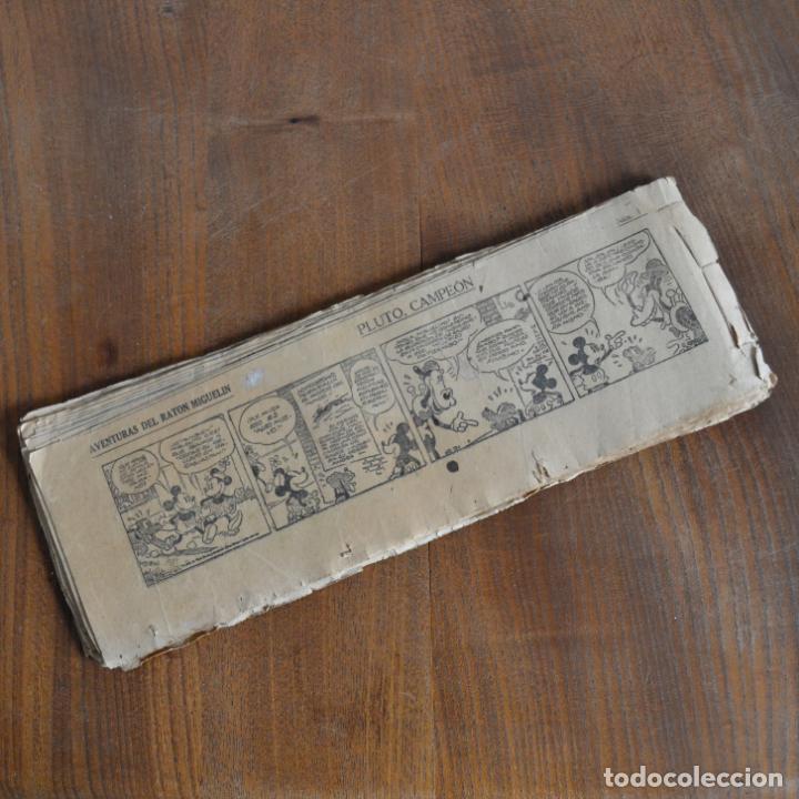 AVENTURAS DEL RATÓN MIGUELIN * MICKEY MOUSE * PLUTO, CAMPEÓN * 54 TIRAS * AÑOS 30 (Tebeos y Comics - Tebeos Clásicos (Hasta 1.939))