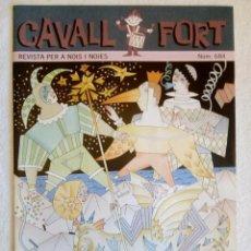 Tebeos: CAVALL FORT Nº 684 / GENER 1992. Lote 149518566