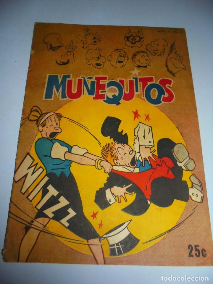 TEBEO. CUBA. MUÑEQUITOS. AÑO I. Nº 1. VER FOTOS. BUEN ESTADO (Tebeos y Comics - Tebeos Otras Editoriales Clásicas)