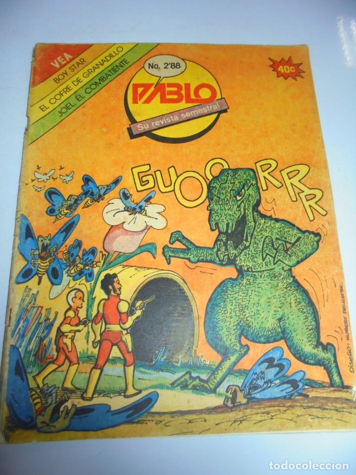 TEBEO. CUBA. PABLO. Nº 12. AÑO 3. 1988. REVISTA SEMESTRAL. (Tebeos y Comics - Tebeos Otras Editoriales Clásicas)