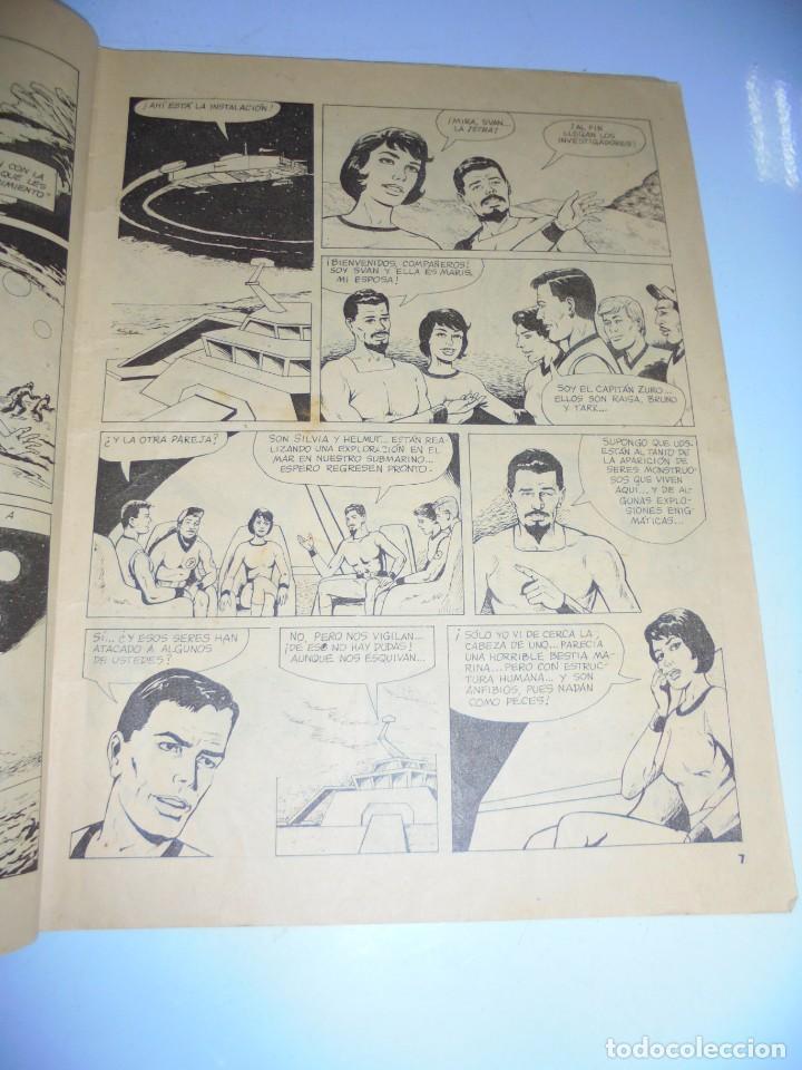 Tebeos: TEBEO. CUBA. ZURO AGENTE SIDERAL. VANARIS. Nº 358. EDITORIAL ORIENTE. 1989. VER FOTOS - Foto 3 - 150352502