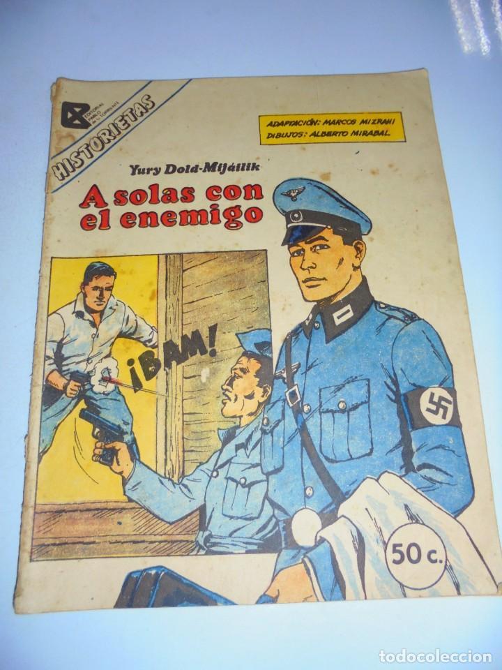 TEBEO. CUBA. A SOLAS CON EL ENEMIGO. YURY DOLD-MIJAILIK. (FRAGMENTOS). 1987. VER FOTOS (Tebeos y Comics - Tebeos Otras Editoriales Clásicas)