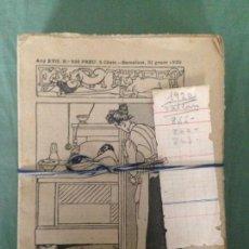 Tebeos: EN PATUFET. AÑO 1920 COMPLETO (FALTAN Nº 855, 860 Y 863). Lote 150458862