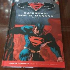 Tebeos: TEBEO SUPERMAN: POR EL MAÑANA PARTE 2 - DC COMICS, 2017, 160PP, TAPAS DURAS. Lote 150825733