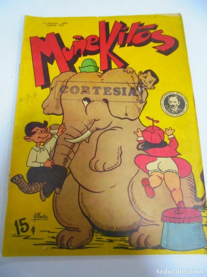 TEBEO. CUBA. MUÑEKITOS. AGOSTO 1953. VER FOTOS (Tebeos y Comics - Tebeos Otras Editoriales Clásicas)