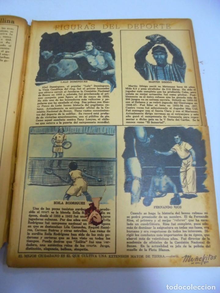 Tebeos: TEBEO. CUBA. MUÑEKITOS. JUNIO 1953. VER FOTOS - Foto 5 - 150927298