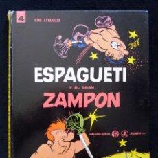 Tebeos: ESPAGUETI Y EL GRAN ZAPÓN, Nº 4, POR DINO ATTANASIO. COLECCION EPÍTOM. JAIMES, 1967. CASTELLANO. Lote 151098466