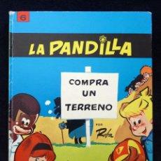 Tebeos: LA PANDILLA COMPRA UN TERRENO, Nº 6, POR ROBA. COLECCION EPÍTOM. JAIMES, 1969. CASTELLANO. Lote 151098526