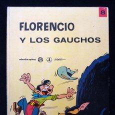 Tebeos: FLORENCIO Y LOS GAUCHOS, Nº 8. COLECCION EPÍTOM. JAIMES, 1970. CASTELLANO. Lote 151098582