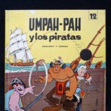 Tebeos: UMPAH-PAH Y LOS PIRATAS, Nº 12, POR GOSCINNY Y UDERZO. COLECCION EPÍTOM. JAIMES, 1972. CASTELLANO. Lote 151098786