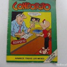 Tebeos: CONDORITO MUESTRA DE REVISTA EJEMPLAR DE CORTESÍA EDITORIAL ANDINA. Lote 151119854