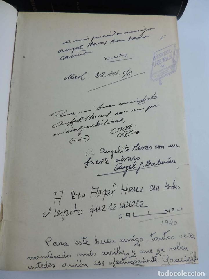 Tebeos: Gutierrez, del num. 1 de 1927 al 100 de 4 de mayo de 1929, dedicatorias autografas de K-HIto, Orbego - Foto 3 - 151226614