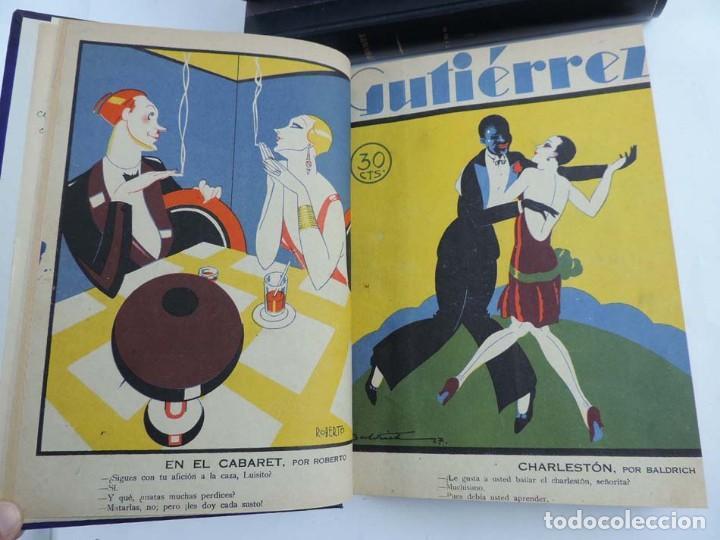 Tebeos: Gutierrez, del num. 1 de 1927 al 100 de 4 de mayo de 1929, dedicatorias autografas de K-HIto, Orbego - Foto 5 - 151226614