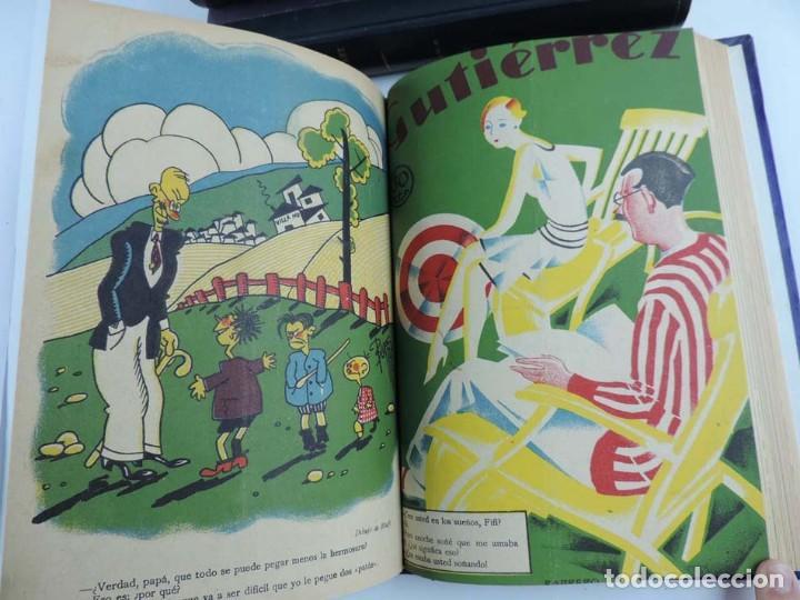 Tebeos: Gutierrez, del num. 1 de 1927 al 100 de 4 de mayo de 1929, dedicatorias autografas de K-HIto, Orbego - Foto 7 - 151226614