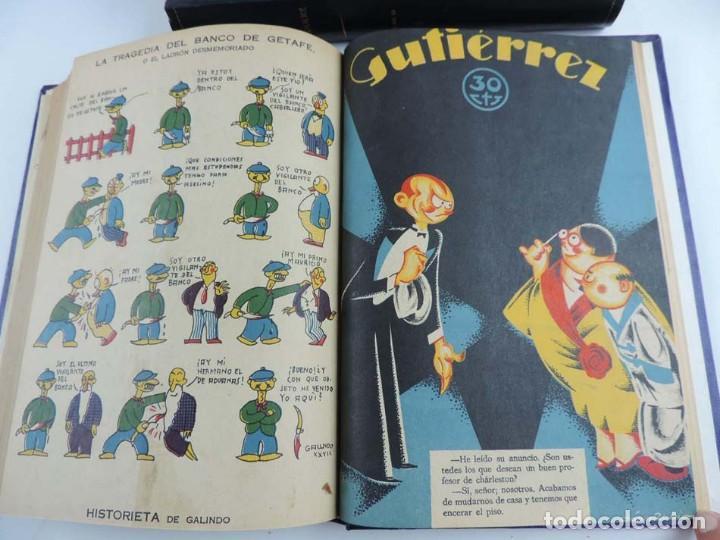 Tebeos: Gutierrez, del num. 1 de 1927 al 100 de 4 de mayo de 1929, dedicatorias autografas de K-HIto, Orbego - Foto 8 - 151226614