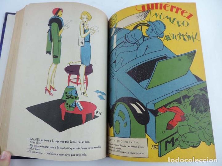 Tebeos: Gutierrez, del num. 1 de 1927 al 100 de 4 de mayo de 1929, dedicatorias autografas de K-HIto, Orbego - Foto 13 - 151226614