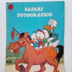 Tebeos: PATO DONAL Y SUS SOBRINOS, SAFARI FOTOGRAFICO, CUENTOS FHER, WALT DISNEY, AÑO 1972.. Lote 151508102