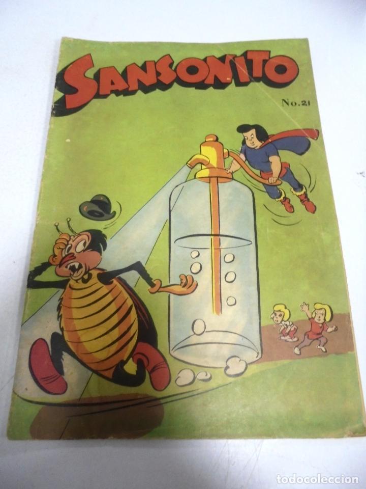 TEBEO. CUBA. SANSONITO. Nº 21. OCTUBRE 1959 (Tebeos y Comics - Tebeos Otras Editoriales Clásicas)