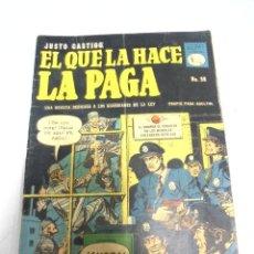 Tebeos: TEBEO. CUBA. LA PRENSA. JUSTO CASTIGO: EL QUE LA HACE LA PAGA. Nº 56. OCTUBRE 1959. Lote 151677406