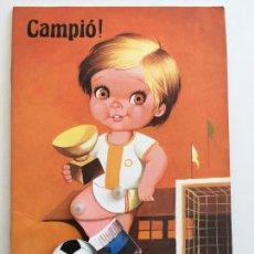 Tebeos: CAMPIÓ, CUENTO INFANTIL DE LA EDITORIAL ZIP DE VARCELONA. Lote 153312022