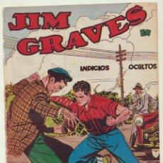 Tebeos: JIM GRAVES Nº 1. SELECCIÓN DE AVENTURAS Nº 9. TORAY 1954, MUY ESCASO. Lote 154003125