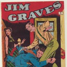 Tebeos: JIM GRAVES. SELECCIÓN DE AVENTURAS Nº 10. TORAY 1954. Lote 154003129