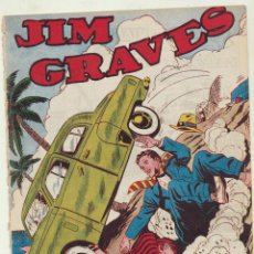 Tebeos: JIM GRAVES. SELECCIÓN DE AVENTURAS Nº 11. TORAY 1954. MUY ESCASO. Lote 154003133