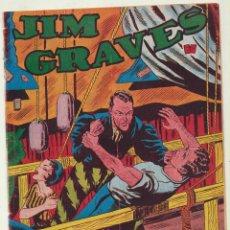 Tebeos: JIM GRAVES. SELECCIÓN DE AVENTURAS Nº 12. TORAY 1954. Lote 154003137