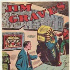 Tebeos: JIM GRAVES. SELECCIÓN DE AVENTURAS Nº 13. TORAY 1954. Lote 154003141