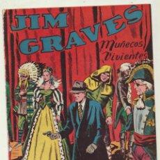 Tebeos: JIM GRAVES. SELECCIÓN DE AVENTURAS Nº 14. TORAY 1954. Lote 154003145
