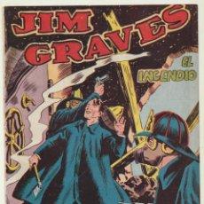 Tebeos: JIM GRAVES. SELECCIÓN DE AVENTURAS Nº 15. TORAY 1954. Lote 154003149