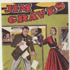 Tebeos: JIM GRAVES. SELECCIÓN DE AVENTURAS Nº 19. TORAY 1954. Lote 154003161